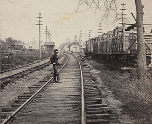 Williams Bridge (Metro-North station) - Williams Bridge Station, ca. 1849