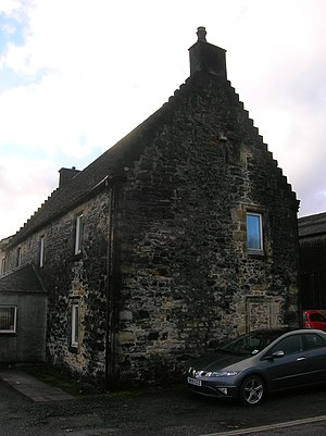 Lands of Willowyard - Willowyard House, gable end