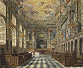 Windsor Castle, Royal Chapel, by Charles Wild, 1818 - royal coll 922113 313693 ORI 1.jpg