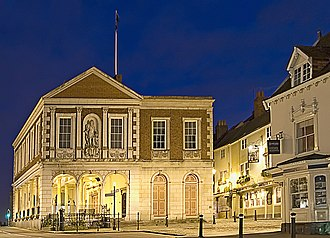 Windsor, Berkshire - The Market Place and Windsor Guildhall