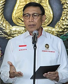 Wiranto's conference press about the 2019 Indonesian general election (cropped).jpg