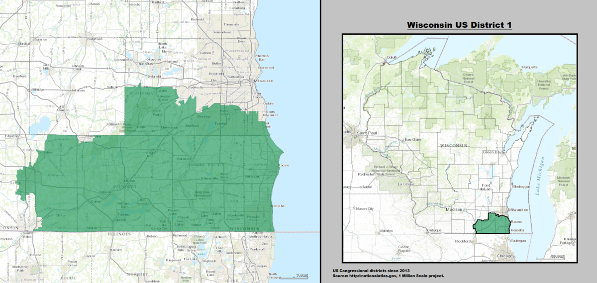 Wisconsin's 1st congressional district   Wikipedia