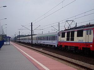 Grodzisk Mazowiecki–Zawiercie railway - Włoszczowa Północ Station