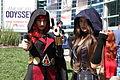 WonderCon 2015 - Assassin Black Widow and X-23 (17049627075).jpg