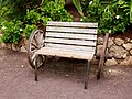 Wooden bench Oasis Park 03.jpg