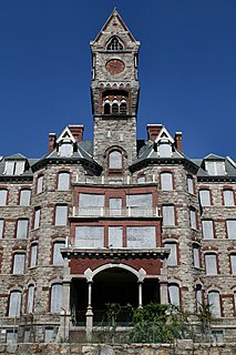 Worcester State Hospital Hospital in Massachusetts, United States