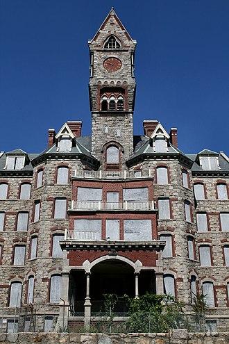 Worcester State Hospital - Administration building
