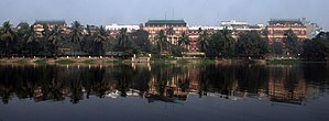 Writers' Building - Writers' Building from across Lal Dighi in B.B.D. Bagh