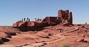 Wupatki National Monument - Wukoki ruins complex