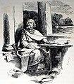 Wulfila translating the Bible, illustration 1879 - Wulfila übersetzt die Bibel, Illustration von 1879.jpg