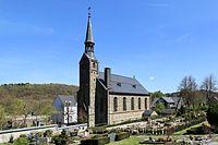 Wuppertal - Am Kriegermal - Friedhof + evangelische Kirche 01 ies.jpg