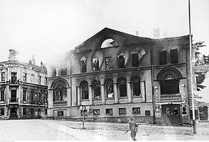 Wyborg. Zniszczony teatr miejski. (2-1792).jpg