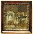 Wybrand Hendriks, Amsterdam 1774-Haarlem 1831, Interieur van de Nieuwe Kerk van Haarlem, 1816, Olieverf op paneel.JPG