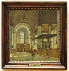 Interior of the Nieuwe Kerk, Haarlem
