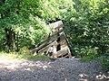 Wysadzony w powietrze w nie dom końca wyjaśnionych okolicznościach most na Gwdzie - panoramio.jpg