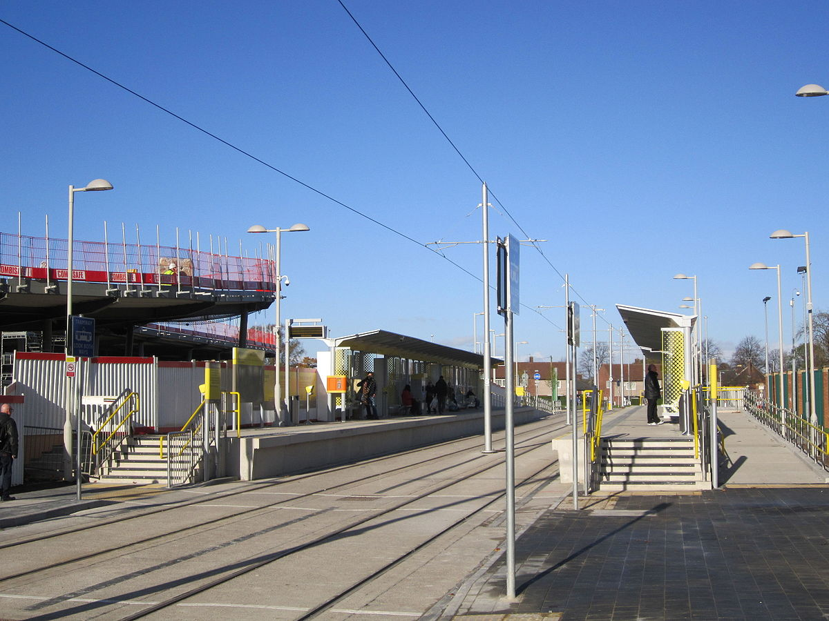 Wythenshawe Town Centre Tram Stop
