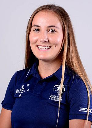 Rae Anderson (athlete) - Image: XXXX15 Rae Anderson 3b 2016 Team processing