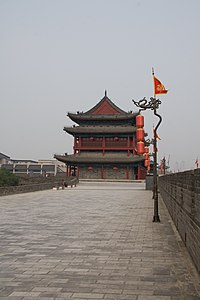 Xi'an - City wall - 007.jpg