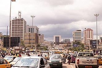Yaoundé - Image: Yaounde Centre Ville