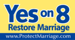 ProtectMarriage.com - The coalition widely distributed these yard signs during their pro-Prop 8 California campaign in 2008.