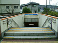 Yokohama-municipal-subway-B07-Maioka-station-2-entrance-stairs.jpg