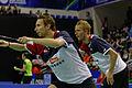 Yonex IFB 2013 - Quarterfinal - Liu Xiaolong - Qiu Zihan vs Mathias Boe - Carsten Mogensen 10.jpg