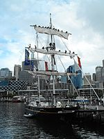 Young Endeavour man the mast.jpg