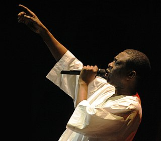 Youssou NDour Senegalese politician and singer-songwriter