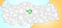 Yozgat Turkey Provinces locator.jpg