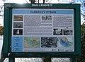 Záběhlice, Hamerský rybník, informační tabule.jpg