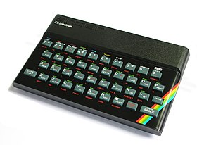 The original 1982 ZX Spectrum.