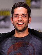Zachary Levi by Gage Skidmore 2