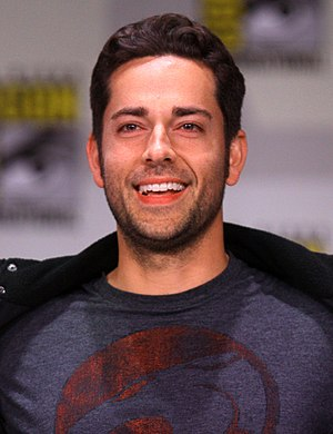 Zachary Levi - Levi at the 2011 San Diego Comic Con International