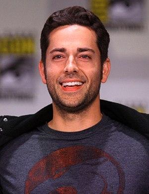 Zachary Levi - Levi at the 2011 San Diego Comic Con International