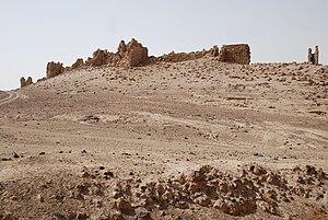 Zalabiye - Zalabiye seen from the northeast