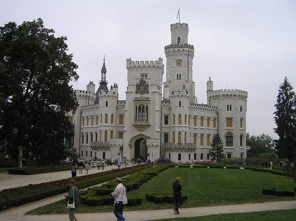 Zamek hluboka 1 beentree