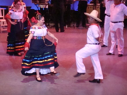 """Zapateo"", the traditional dance of Tabasco Zapateo tabasqueno 1.jpg"