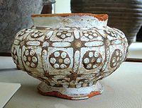 Zhou vase with glass inlays, 4th-3rd century BCE, British Museum.