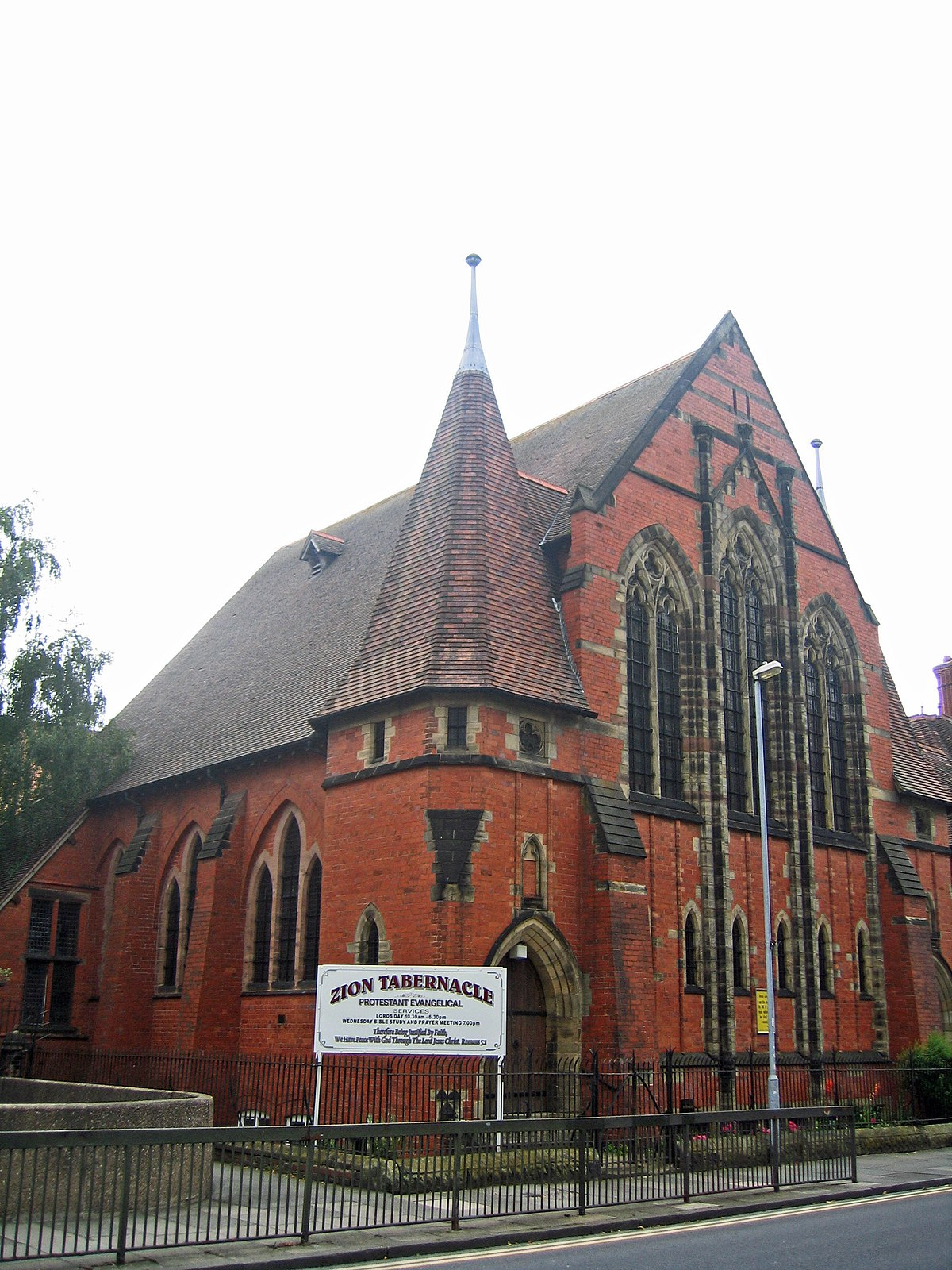 zion chapel  chester