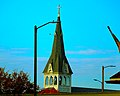 Zion Lutheran Church Steeple Columbus, WI - panoramio.jpg