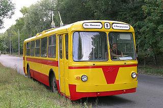 Soviet trolleybus