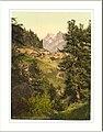 Zmutt Valley with Mischabelhörner group Valais Alps of Switzerland.jpg