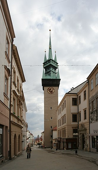 Znojmo - Znojmo Town Hall Tower
