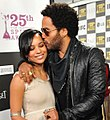 Zoe Kravitz and Lenny Kravitz at the 25th Spirit Awards (cropped).jpg