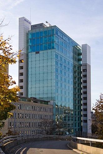 Swisscom - Bluewin tower in Zürich