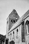 zuid-gevel kerk en oostgevel toren - wanswerd - 20249316 - rce