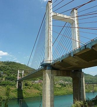 Wu River (Yangtze tributary) - The Zunyi Bridge over the Wu River