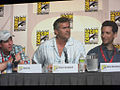 """Burn Notice""s Matt Nix, Bruce Campbell and Ben Shenkman (3750924295).jpg"