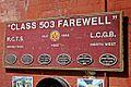 """Class 503 Farewell"", Wirral Transport Museum, Birkenhead (geograph 4533800).jpg"