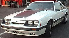 Ford Mustang z lat 1985–1986